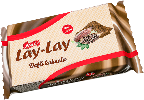 """LAY-LAY"" CACAO CREAM WAFERS"