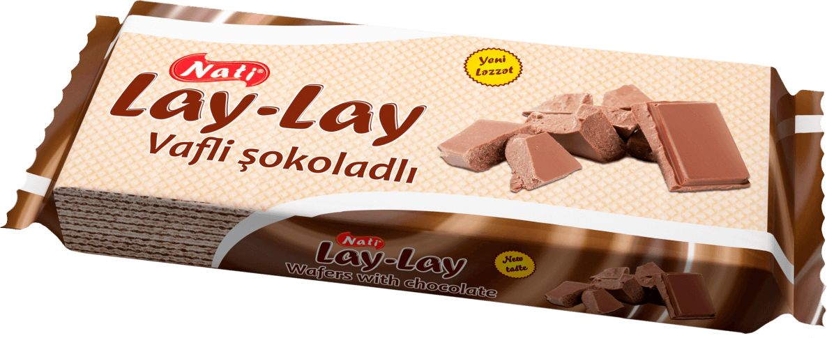 """LAY-LAY"" CHOCOLATE CREAM WAFERS"