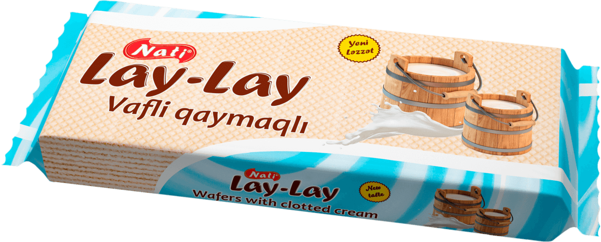 """LAY-LAY"" WAFERS WITH CLOTTED CREAM"