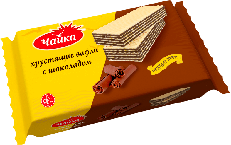 """CHAYKA"" CHOCOLATE CREAM WAFERS"